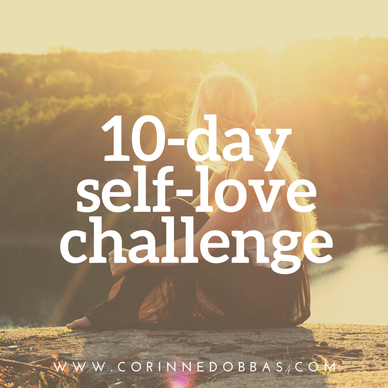 free 10-day self-love challenge