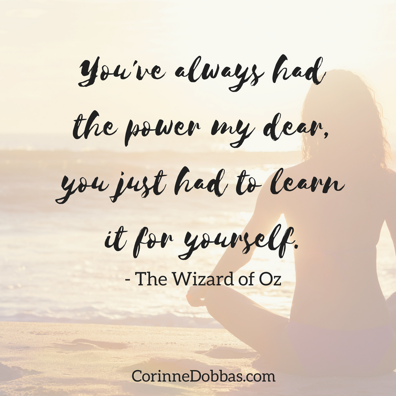 You've always had the power <3